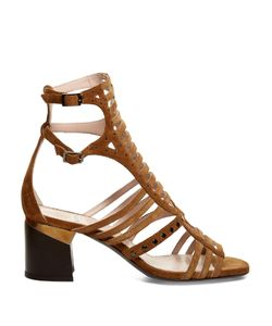 Lanvin | Gladiator Suede Sandals