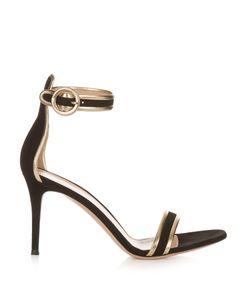 Gianvito Rossi | Portofino Contrast-Trimmed Suede Sandals