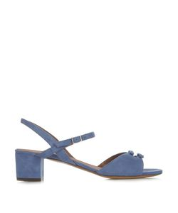 Tabitha Simmons | Bonnie Bow Suede Sandals
