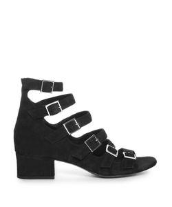 Saint Laurent | Babies Buckle-Strap Suede Sandals
