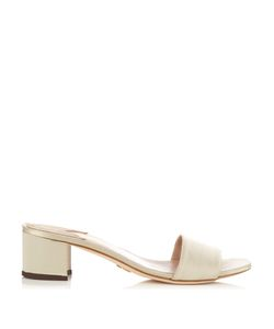 BROTHER VELLIES | Solt Satin Block-Heel Mules
