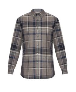 Brioni | Checked Cotton Shirt