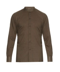 Bottega Veneta | Vintage-Print Cotton-Poplin Shirt