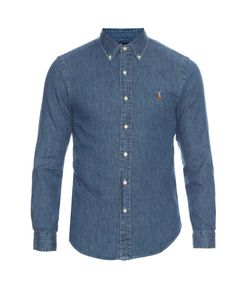 Polo Ralph Lauren | Slim-Fit Long-Sleeved Denim Shirt