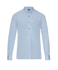 Lanvin | Button-Cuff Cotton-Poplin Shirt