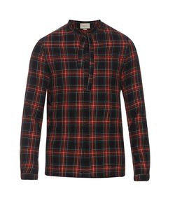 Gucci | Cambridge Cotton And Wool-Blend Tartan Shirt