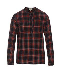 Gucci | Cambridge Cotton And Wool-Blend Tartan Shirt