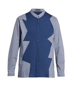 Christopher Kane | Long-Sleeved Checked Shirt