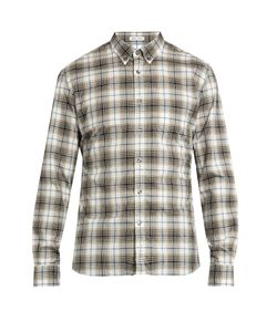 Tomas Maier | Checked Cotton Shirt
