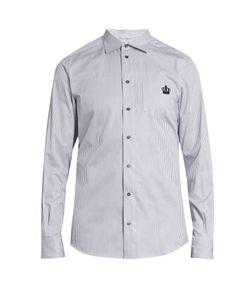 Dolce & Gabbana | Striped Button-Cuff Cotton Shirt