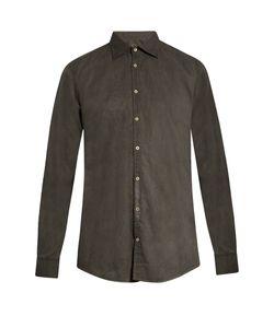 Massimo Alba | Dyed Cotton Shirt