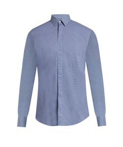 Lanvin | -Checked Cotton-Poplin Shirt