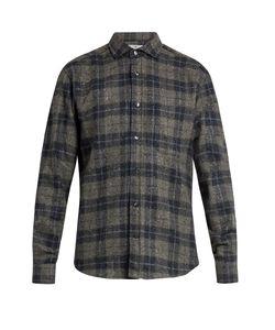 INIS MEÁIN | Donegal Wool-Blend Shirt