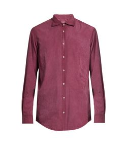 Massimo Alba | Button-Cuff Striped Cotton Shirt