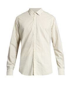 Bevilacqua | David Striped-Print Cotton Shirt