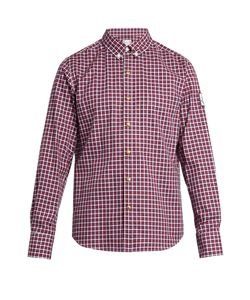 Moncler Gamme Bleu | Long-Sleeved Checked Cotton Shirt