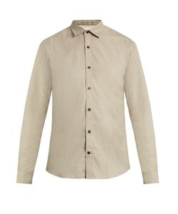 GIEVES & HAWKES | Button-Cuff Cotton And Cashmere-Blend Shirt