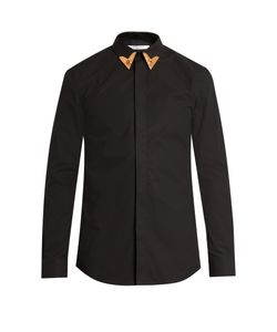 Givenchy | Tipped-Collar Cotton Shirt