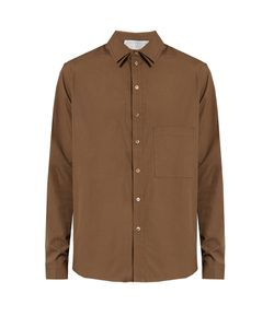 BY WALID | Double-Collar Cotton-Poplin Shirt
