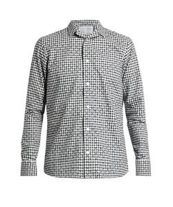 Kolor | Checked And Flock Cotton Shirt