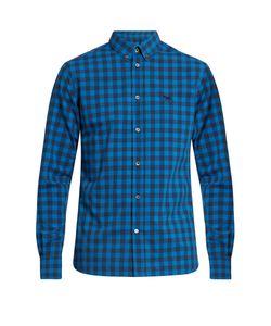 Maison Kitsune | Checked Cotton-Poplin Shirt