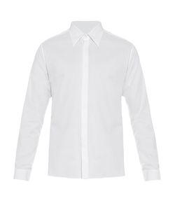 MATHIEU JEROME | Long-Collar Single-Cuff Cotton Shirt