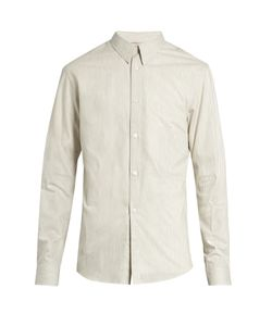 LEMAIRE | Button-Cuff Striped Cotton Shirt