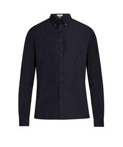 Balenciaga | Button-Down Collar Cotton-Poplin Shirt