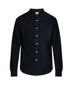 SIMON MILLER | Patch-Pocket Denim Shirt