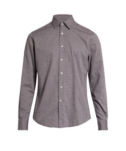Glanshirt | Kent Point-Collar Cotton Shirt