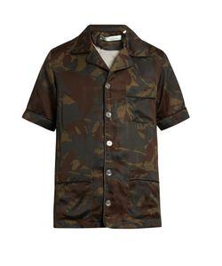 OFF-WHITE | Uflage-Print Short-Sleeved Shirt