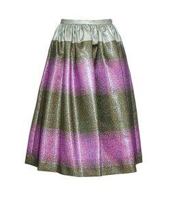 Marco De Vincenzo | -Striped Midi Skirt