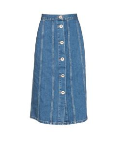 Mih Jeans | Simone Button-Down Denim Skirt