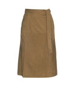 Frame | Le Wrap Suede Skirt