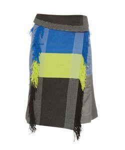 Issey Miyake | Parrot Fringed Skirt