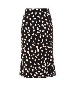 Altuzarra | Novak Polka-Dot Stretch-Crepe Skirt
