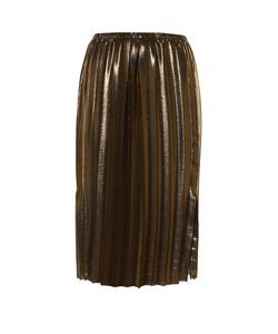 Isabel Marant Étoile | Malden Pleated Lamé Midi Skirt