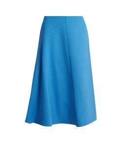 Marni | Wool-Crepe High-Waisted Skirt