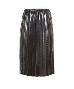 Isabel Marant Étoile | Malden Pleated Lamé Midi Skirt