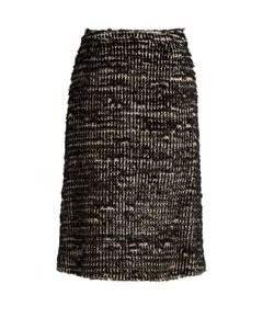 Simone Rocha | Textured-Tweed Skirt