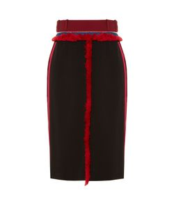Altuzarra | Alic Fringe-Trimmed Pencil Skirt