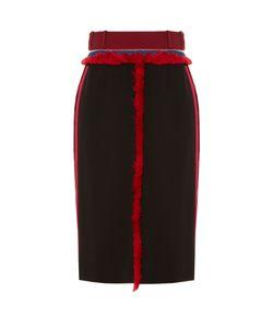 Altuzarra | Alic Fringe-Trimmed Pencil Skirt