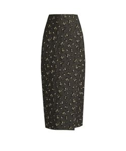 BROCK COLLECTION | -Jacquard Pencil Midi Skirt