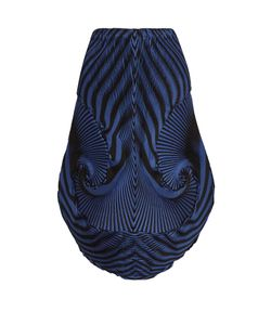 Issey Miyake | Optical 1 Pleated-Swirl Skirt