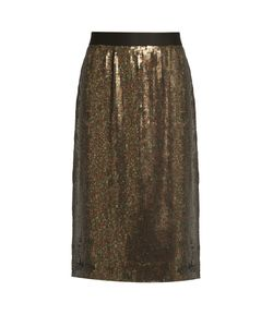 Tibi | Sequin-Embellished Skirt