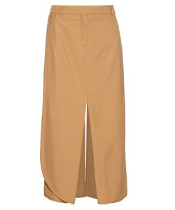 SIES MARJAN | Technical Wool-Twill Midi Skirt