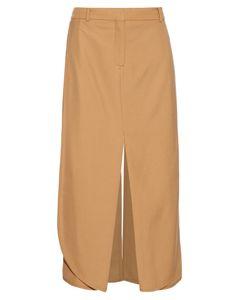 SIES MARJAN | Technical Wool-Twill Midi Skirt
