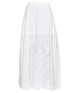 Stella Mccartney | Penelope Broderie-Anglaise Panel Maxi Skirt