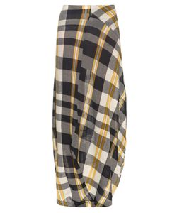 Stella Mccartney | Checked Cotton-Knit Skirt
