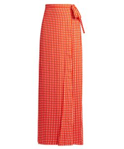 Preen By Thornton Bregazzi | Agnel Wrap Maxi Skirt